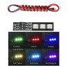 Diodes LED switch 7 colors FPV 14 - 17V