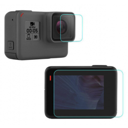 Toughened Gass Lens + Screen GoPro Hero 5 6