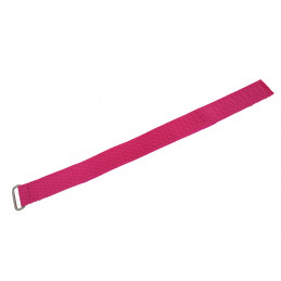 Sewed Velcro Band 2 / 25 cm PINK