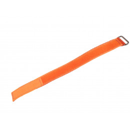 Sewed Velcro Band 2 / 25 cm Orange