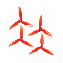 DAL DALPROP CYCLONE T5050C set Transparent Red