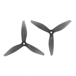 Gemfan Flash Durable 5144 3 Blade Props 2xCW + 2xCCW Clear Grey