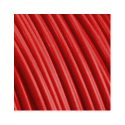 Filament Fiberlogy ABS Red / Czerwony 1,75 1.75 mm