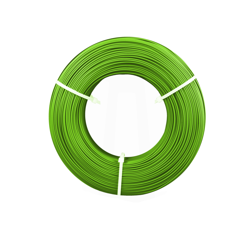 Filament Fiberlogy Refil EASY PLA Light Green / Jasny Zielony 1,75 1.75 mm