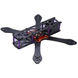 MARTIAN 255 Carbon Ramiona 4 mm FPV RAMA DRON QUAD