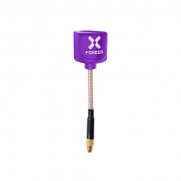Antena Foxeer Lollipop 3 5.8G RHCP MMCX Fioletowa 59mm