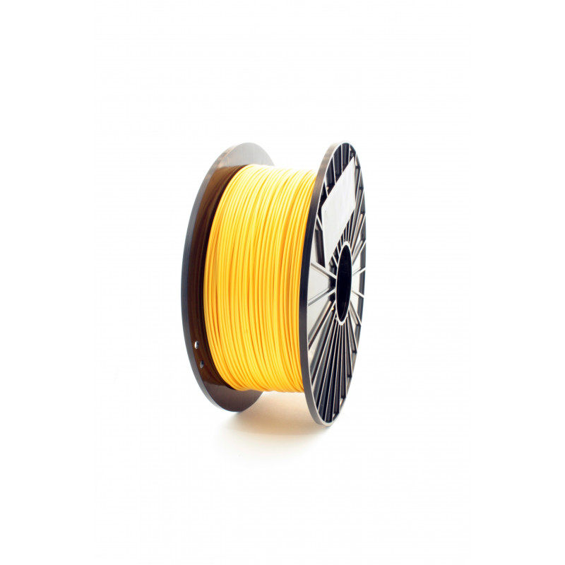 Filament F3D 0,5 kg TPU Żółty / Yellow 1,75 1.75 mm ala Guma