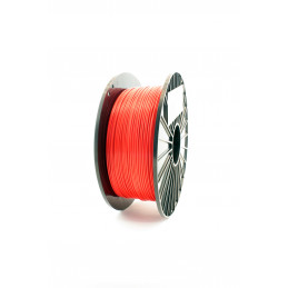 Filament F3D 1 kg Mat. Czerwony / Fire Red 1,75 1.75 mm Druk 3D