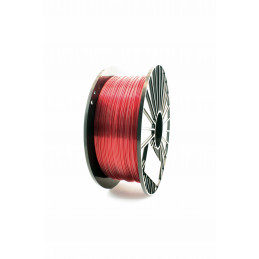 Filament F3D 1 kg PET-G Tr. Czerwony / Tr. Red 1,75 1.75 mm Druk 3D