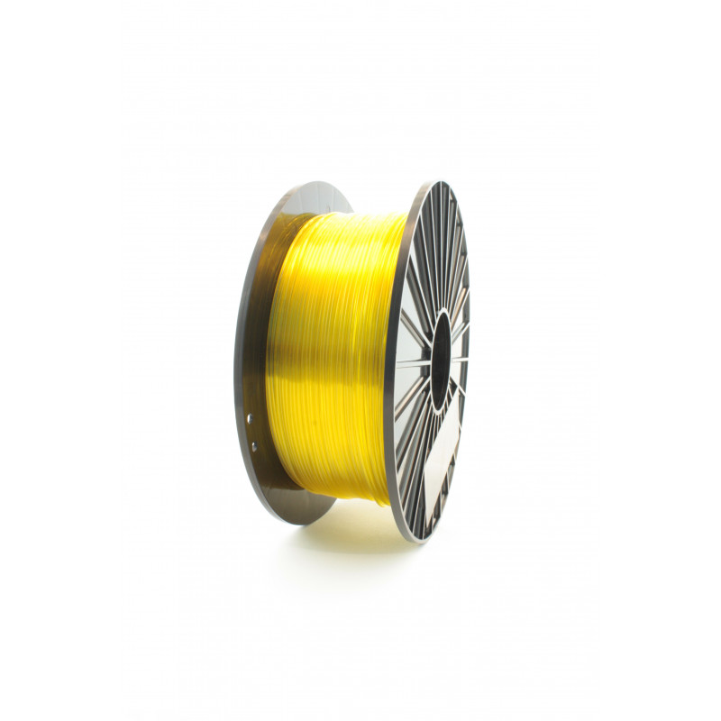 Filament F3D 1 kg PET-G Tr. Żółty / Tr. Yellow 1,75 1.75 mm Druk 3D