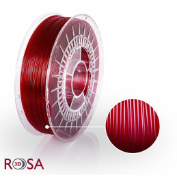 Filament ROSA 3D PET-G Tr. Czerwony Krwisty Red Wine 1,75 mm