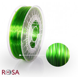 Filament ROSA 3D PET-G Tr. Jasny Zielony Light Green 1,75 mm